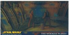 Star Wars Revenge Of The Sith Widevision Chrome Art Chase Card H4