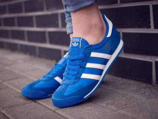 Adidas Dragon BB2486 OG Damen Junior Sneakers Sport Turnschuhe Laufen blau Blau