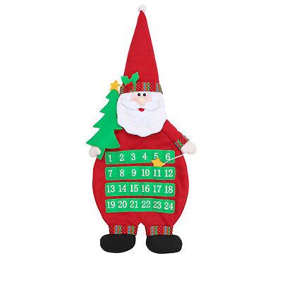 NEW Vue Jingle Bells Fabric Santa Advent Calendar