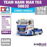 Combo Kit 58632 Tamiya Team Hahn Man Tgs Race Truck Tt-01 E R/c Kit