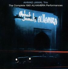 Ahmad Jamal, Ahmad J - Complete 1961 Alhambra Performances [New CD] Bo