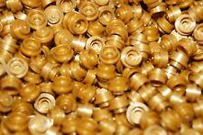 LEGO 700 pcs GOLD MATTE AND SHINING ROUND BRICKS 1x1 PIN No 4073//6141//30057