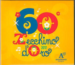 CD-Musicale-CD-DVD-ZECCHINO-D-039-ORO-2017-60-EDIZIONE-SPECIALE-ANNIVERSARIO
