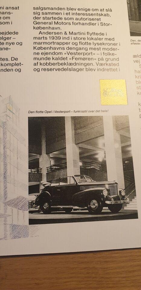 Brochure, Andersen & Martini