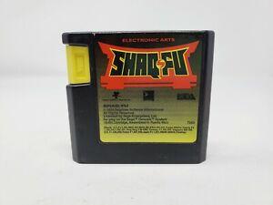 Shaq Fu (Sega Genesis) Tested Authentic