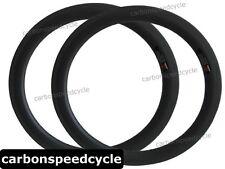 """20"""" BMX carbon bicyle rim 50mm clincher 406mm 20inch carbon folding bike rim"""