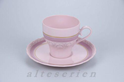 Exklusiv Rosé Sanssouci Edition Kaffeetasse mit Untere Hutschenreuther Drache