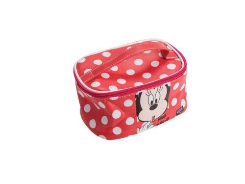 Disney Minnie Mouse bag bath travel pouch case Red