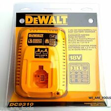 NEW IN PACKAGE Dewalt 18V DC9310 Lit-ion Battery Charger XRP 18 Volt For DC9180