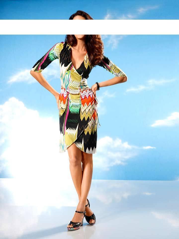Designer Kleid Rick Cardona Größe 42  NEU