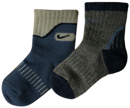 Nike 2 Paire Pack Infants Toddlers Kids Youth Sports Chaussettes 572253 050 OPU103