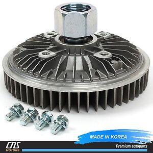 2843 Engine Cooling Fan Clutch for 01-09 Chevrolet GMC 6.6L Duramax Diesel 22617
