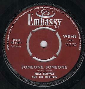MIKE-REDWAY-AND-THE-BEATMEN-PAUL-RICH-Someone-Someone-Ramona-7-034-VINYL-UK
