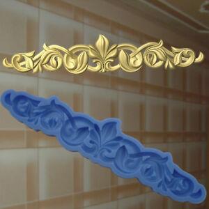 3 Ornamente Verzierungen Gießform