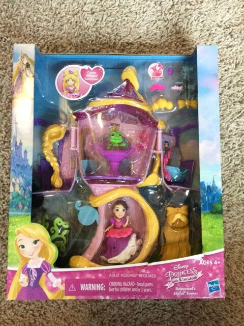 NIB Disney Princess Little Kingdom Rapunzel/'s Stylin/' Tower Hasbro Styling