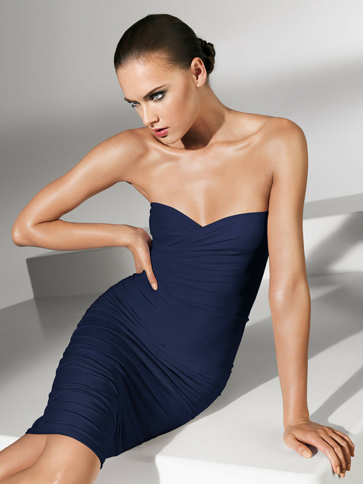 Wolford Fatal dress dress dress  M  Navy  OVP... molto variabile come abito gonna O TOP 868e3f