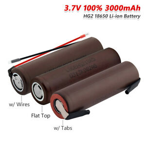 3-7V-3000mAh-High-Drain-HG2-18650-Battery-20A-Rechargeable-For-Headlamp-Torch-F