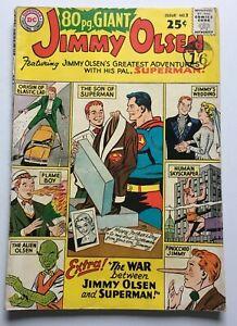 JIMMY-OLSEN-80-PAGE-GIANT-NO-2-SILVER-AGE-1964-DC-COMICS-SUPERMAN-VG-FN-5-0