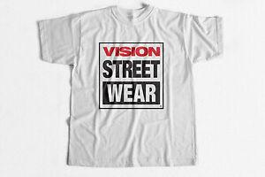 e0fe18d4b45 Vintage Skate T-Shirt Vision Street Wear 80s skateboarding Tee ...