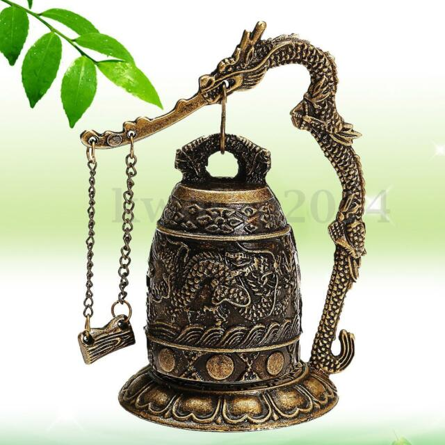 Tibet Dragon Buddha Bell Chinese Element Home Office Scenic Spots Decoration