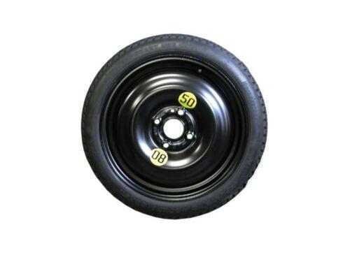 """Original Nissan Micra Space Saver rueda de repuesto y neumáticos de 15 /"""" Jack /& Llave De Rueda,"""