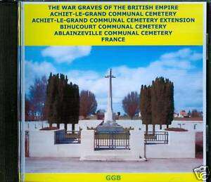 WAR-GRAVES-OF-ACHIET-LE-GRAND-OTHERS-FRANCE-CD