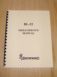 Details about Browning BL-22 Field Service Manual - Gunsmith - Repair - #B2