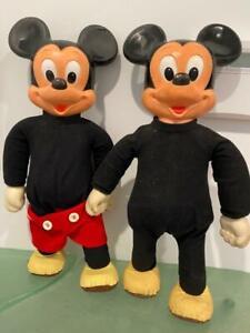 Marching Mickey Mouse Club Doll Romper Room Hasbro Lot 2 1970s Disney VIDEO Walk