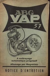 Capable Catalogue Notice Entretien Moteur Abg Vap 57 Mobylette