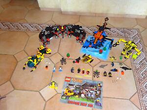 Lot Lego-alpha Team-mission Deep Sea 4789 6175 4795 4790 3947 Complet 1 Notes et avis
