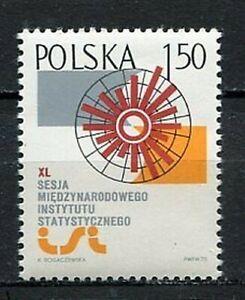 35893) Poland 1975 MNH Institute Of Statistics 1v