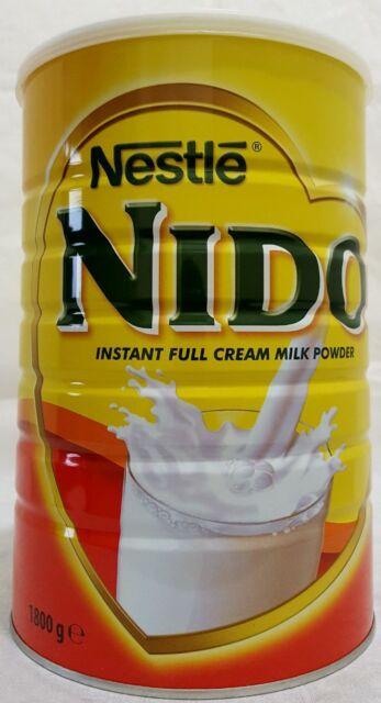 1800G Nido Leche Entera en polvo Nestle Bebidas Instantánea