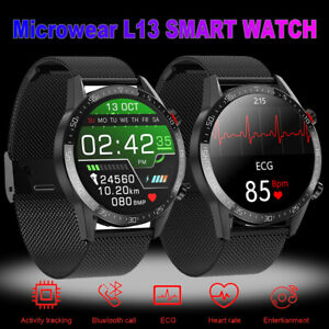 Smart Watch Waterproof PPG ECG Blood Oxygen Pressure Heart Rate For Android IOS