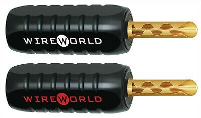 WIREWORLD Banana Gold Complete Uni-Term System//Pack of 16