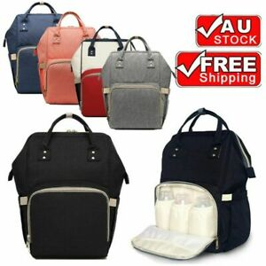 Waterproof-Large-Mummy-Nappy-Diaper-Bag-Baby-Travel-Changing-Backpack-AU-Stock