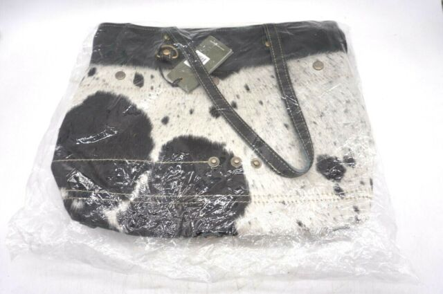 Myra Bags Bucket Genuine Leather With Animal Print Tote Bag S 0981 For Sale Online Ebay They use a natural vegetable tanning processes for all bags. myra bags black shades genuine leather with animal print tote bag s 0980