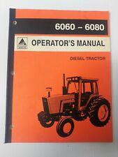 Agco Allis Chalmers 6060 6080 Operators Manual 70272426 January 1994