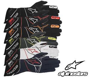 Alpinestars Tech 1-KX Karting Handschuhe,Ideal Für Autograss / Kart Rennen S -