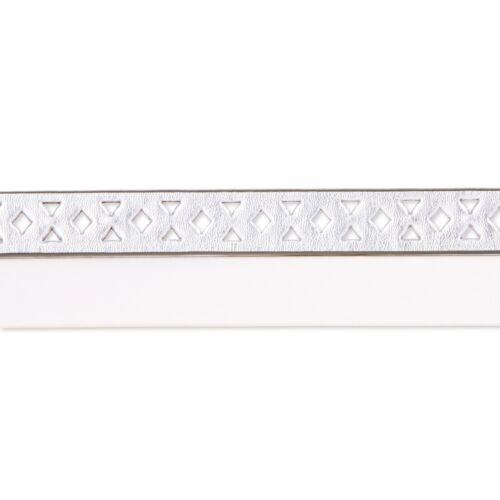 NOBO No Boundaries 2XL Ladies Fashion Belt Belts Silver 2 for 1 price White