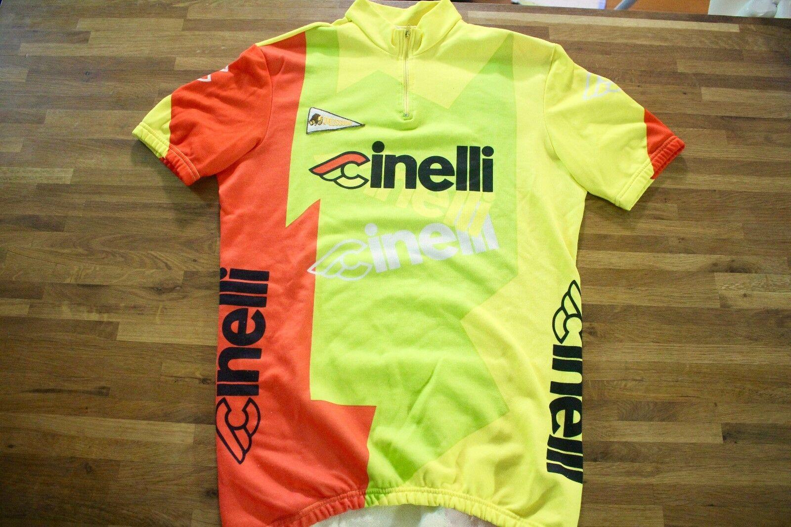 Vintage Cinelli Half Sleeve Cycling Jersey