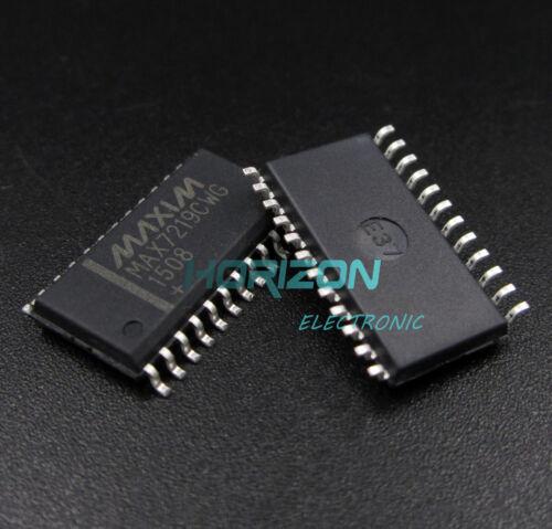 25PCS IC MAX7219 SOP24 DRIVER LED DISPLAY NEW MAX7219CWG