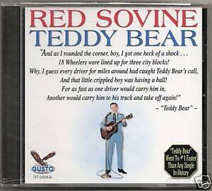 RED-SOVINE-CD-034-TEDDY-BEAR-034-NEW-SEALED