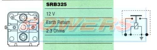 GENUINE LUCAS SRB325 76766 4ST 12V STARTER SOLENOID CLASSIC CAR TRIUMPH MINI