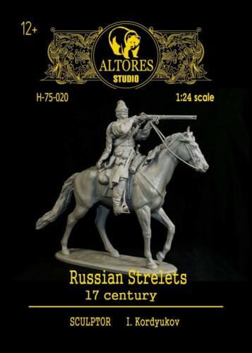 ALTORES STUDIO F75-020 Russian strelets 17 century 75 mm.