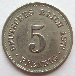 Top-5-Pfennig-1876-J-en-Excellent-Rarement