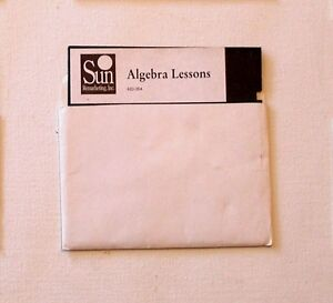 Algebra-Lessons-Disk-by-Sun-for-Apple-II-IIe-IIc-IIGS