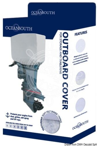 Motorabdeckung Außenborder OCEANSOUTH Top Quality Aussenborderhaube