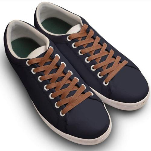 """1//4/"""" Wide Miscly Flat Waxed Cotton Boot Laces Shoelaces 3 Pairs"""