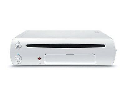 Nintendo Wii U 8GB Console White, Model: WUP-101(02)