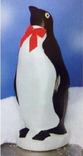 "2 Union Products 76820 22/"" Blow Molded Illuminated Christmas Penguin"